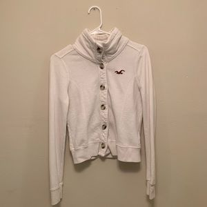 Small button up hollister coat